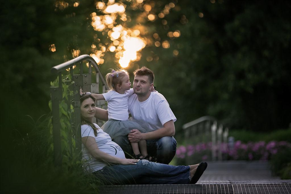 naturalna fotografia ciążowa